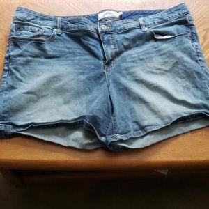 Jean shorts, plus size
